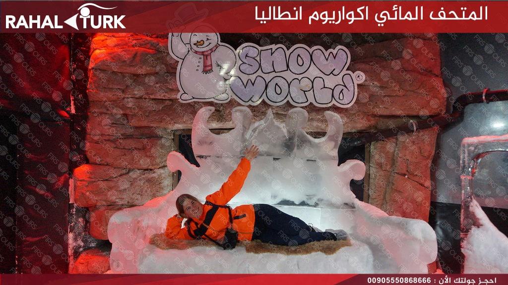 عالم الثلج